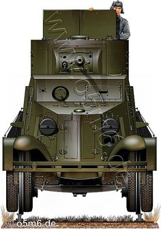 Engines of the Red Army in WW2 - BA-6 Armoured Car