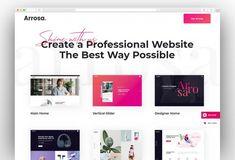 Best Creative Digital Agency WordPress Themes 2020 - New Template Seo Digital Marketing, Online Marketing, One Page Website, Seo Agency, Marketing Training, Creative Portfolio, Creative Business, Wordpress Theme, Web Design