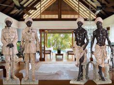 Preciosas las figuras indias que han llegado a Original House. Ideales para dar a tu salón un aire exótico y actual. http://www.originalhouse.info/