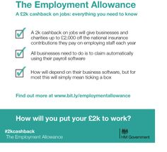 We're now introducing 'everything you need to know' guidance about the Employment Allowance. Have you read it yet? Need To Know, Did You Know, National Insurance, To Tell, Knowing You, Everything, Reading, Business, Reading Books