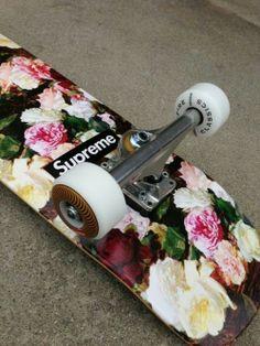 Supereme skateboarding