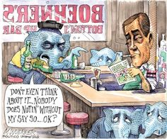 """Government shutdown: Boehner's bottom's up bar"" 