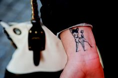 Bambi Northwood-Blyth's Bambi tattoo