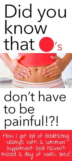 Seriously, why don't people tell you this!?! Understanding what causes painful cramps & natural remedies. #Period #cramps #natural #remedies #relief