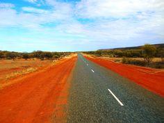 W #Australii takie widoki ciągną się baaaardzo długo...
