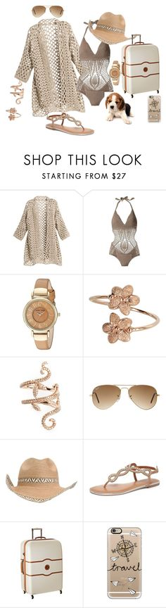 """""""Just Chillin"""" by blujay1126 ❤ liked on Polyvore featuring BCBGMAXAZRIA, Anne Klein, Elise Dray, Ray-Ban, Dorothy Perkins, Delsey and Casetify"""
