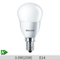 Bec LED Philips CoreLed luster P47, 3.5-25W, E14, 827, 15000 ore, lumina calda, mat, 871829178703700