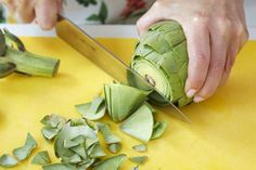 Artichoke Prep 101: A step by step guide to prepping an artichoke the correct way