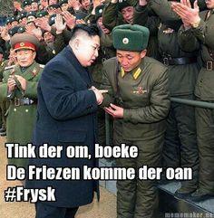 Frysk yn Noord-Korea #Kim Jong-un