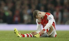 Arsenal have been dealt a huge Jack Wilshere injury blow, with the midfielder told he will need surgery on his leg fracture and will be sidelined until Xmas Arsenal, Jack Wilshere, Ankle Surgery, Arsene Wenger, Sporting Live, English Premier League, Semi Final, Fa Cup, Manchester United