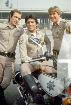 Delaney, Ponch, and Jon Chips Series, Larry Wilcox, Artist Film, 70s Tv Shows, Cop Show, Hot Cops, Fat Man, Old Love, Men In Uniform