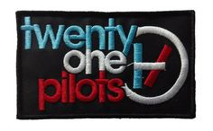 Twenty One Pilots Iron On Embroidered Patch 4 by RusticRasta