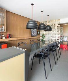 Sala de Jantar despojada jovem e alegre... Quem curte?  Projeto: @arquideias #lardocedecor #saladejantar #homedecor #decorlovers