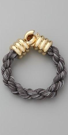 Giles & Brother Millegrain Rope Bracelet - StyleSays