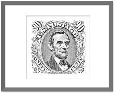 ABRAHAM LINCOLN-STAMP by griffinpassant   Nuvango