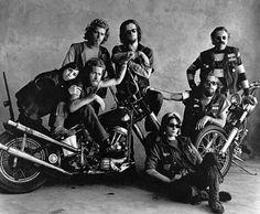 Hells Angels, San Francisco 1967. Foto Irving Penn