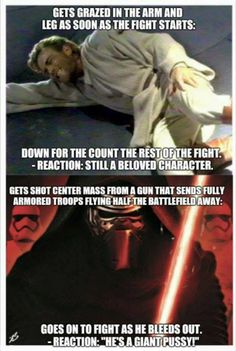 Seriously... Obi-Wan vs Kylo Ren | I mean I love Obi-Wan but Kylo Ren gets so much hate...