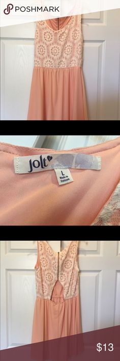 Juniors JOLT dress size large Sleeveless Juniors JOLT dress size large worn twice Jolt Dresses Midi