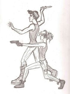 Four and Tris. Divergent