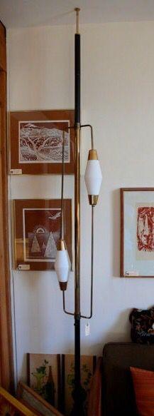 Tension pole lamp divider                                                                                                                                                     More