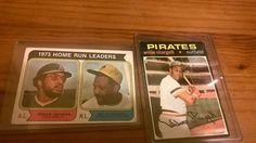 Willie Stargell and Reggie Jackson cards