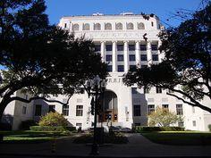 Caddo Parish Courthouse (Shreveport, Louisiana) My first job EVER . proofreading judgments.