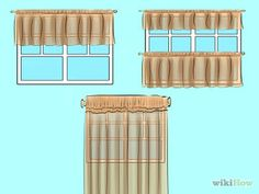 Kitchen curtains on pinterest country kitchen curtains for Como hacer cortinas para cocina