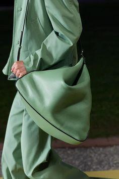 Handbags For Men, Best Handbags, Fashion Week, Fashion Show, Mens Fashion, Vogue Paris, Salvatore Ferragamo, Black Loafers, Big Bags