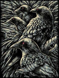A Murder of raven
