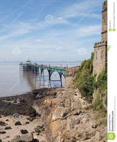 clevedon somerset uk | ... Free Stock Image: Clevedon Pier & Toll House, Somerset, England