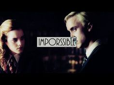 draco hermione || Impossible - YouTube Draco And Hermione, Dramione, Harry Potter, Fandoms, Memes, Videos, Youtube, Fictional Characters, Draco Malfoy