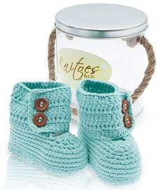Cute Newborn / Baby Shower Gift! Adorable crocheted booties, slippers and Mary Janes