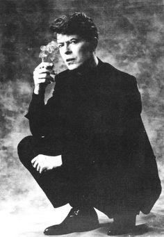 "the-loneliest-bowie: ""David Bowie circa 1986 """