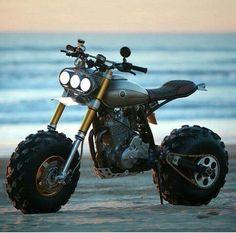 Badass Mini Bike Kits: How to get your kid started early - Motorcycle Mini Motorbike, Scrambler Motorcycle, Honda Scrambler, Tw Yamaha, Mustang, Futuristic Motorcycle, Bike Kit, Harley Softail, Cool Motorcycles