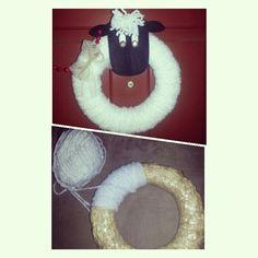 A sheep wreath!