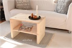 Couchtisch - Coffee table from pallets