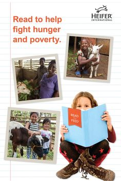 Liahona supports Read to Feed- a great way to get kids excited about reading and helping others!  Learn more about this unique reading-incentive program and download your free resources at heifer.org.