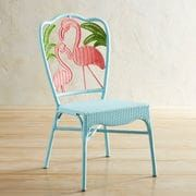 Flamingo Woven Dining Chair