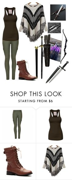 """""""inspired by once upon a time's peter pan. """"lost girl"""""""" by molly-grace-1 ❤ liked on Polyvore featuring Ally Fashion and Relaxfeel"""