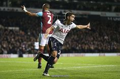 LONDON, ENGLAND - NOVEMBER 19: Harry Winks of Tottenham Hotspur celebrates scoring his sides first goal during the Premier League match between Tottenham Hotspur and West Ham United at White Hart Lane on November 19, 2016 in London, England