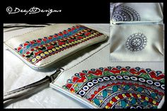 52 New ideas diy gifts sewing purses Hand Painted Fabric, Painted Bags, Madhubani Art, Madhubani Painting, Diy Baby Quilting, Jute, Indian Folk Art, Indian Art Paintings, Diy Baby Gifts