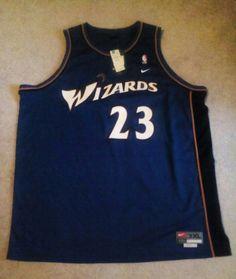 Michael Jordan Washington Wizards Nike Team Retro Swingman NBA Jersey Blue  3X +2  Nike  WashingtonWizards 1909886fa