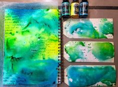 Dylusions art journal + tags - Marjie Kemper
