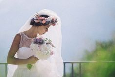 White and pastel floral wedding bouquet | Photography by http://www.roncaglioneweddingphotographers.com/