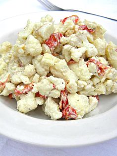 ADDICTED to VEGGIES: Creamy Ranch Cauliflower Salad (this looks so good!) *