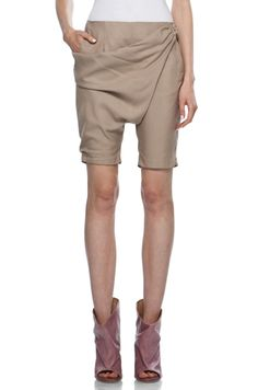 by maison martin margiela Draped Shorts in Beige. Love these shorts found at: FORWARD by Elyse Walker Image Mode, Travel Pants, I Feel Pretty, Model Photos, My Girl, Style Inspiration, Beige, Fashion Outfits, Shorts