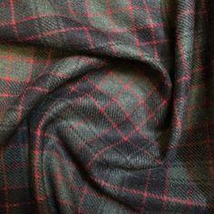 Green/Red Elgin Fabric