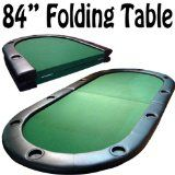 Brybelly Holdings 10 Player Center Fold Poker Table with Folding Legs 84 in.x 42 in. Man Cave Furniture, Poker Night, Man Room, Poker Chips, Casino Night, Pool Table, Home Decor Styles, Digital Camera, Legs