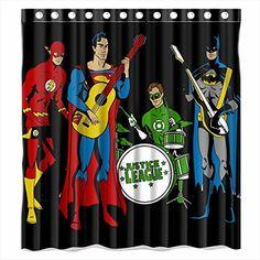 Custom Justice League Batman Superman And Flash Waterproof