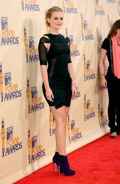 Leighton Meester Pictures - 18th Annual MTV Movie Awards - Arrivals - Zimbio